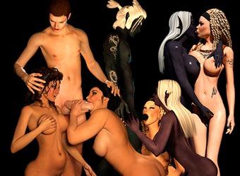 XXX animazioni sesso mostro