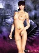 Ragazza nuda sexy emo